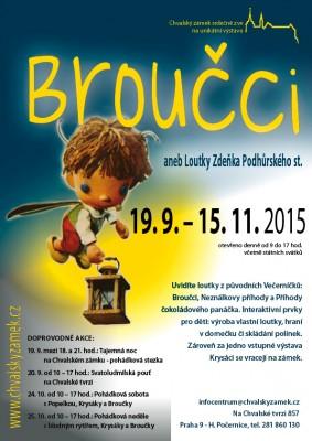 Výstava Broučci aneb Loutky Zdeňka Podhůrského st. – od 19. 9. do 15. 11.