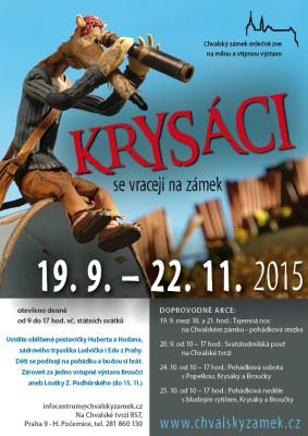 Krysáci se vracejí na zámek: od 19. 9. do 22. 11.