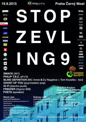 Festival Stop Zevling v sobotu 19.9. na Černém Mostě