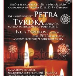 Varhanní koncert Petra Tvrdka