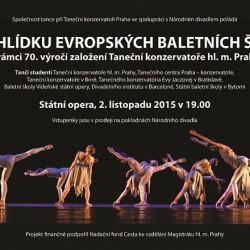 Přehlídka evropských baletních škol