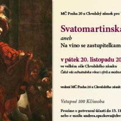 Svatomartinská jízda na zámku aneb Na víno se zastupiteli