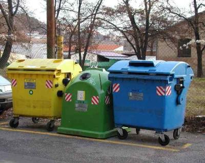 odpad tříděný