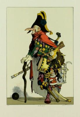 "Výstava ""Karel Toman – litografie, kresby, ilusturace""."