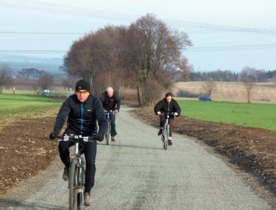 Otevření rekonstruovaného úseku cyklostezky od Zelenče