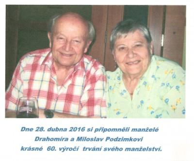 60. výročí trvání svého manželství