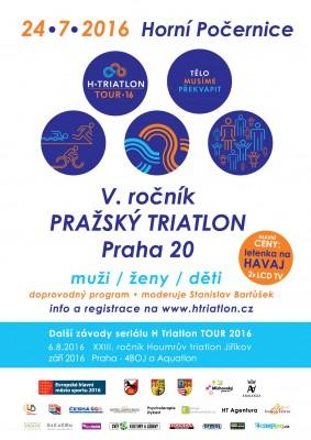 5. ročník Pražského triatlonu