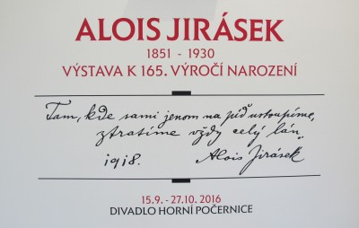 Vernisáž výstavy Alois Jirásek
