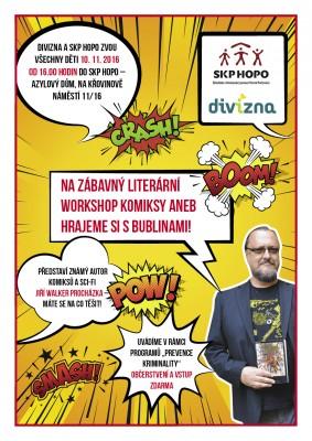 Zábavný literární workshop