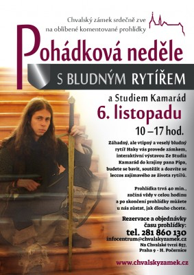 Pohádková neděle na zámku s bludným rytířem a Studiem Kamarád: 6. 11.