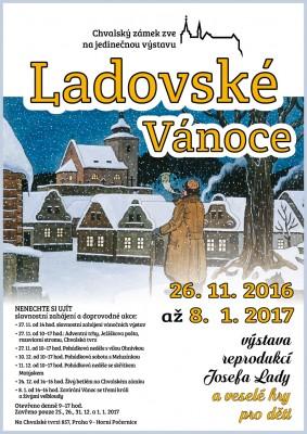 Ladovské Vánoce – výstava reprodukcí Josefa Lady a veselé hry nejen pro děti