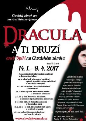 Výstava Dracula a ti druzí aneb Upíři na Chvalském zámku: od 14. 1. do 9. 4. 2017