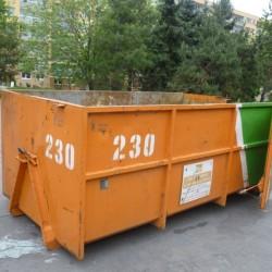 Přistavení velkoobjemových kontejnerů a kontejnerů na bioodpad v 1. pol.…