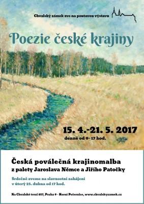 Poezie české krajiny – česká poválečná krajinomalba z palety J. Němce a J. Patočky: od 15. 4. do 21. 5.
