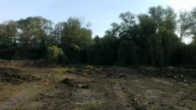 Odbahnění Biologického rybníka