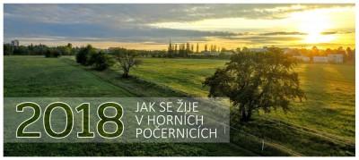 Kalendář na rok 2018 Jak se žije v Horních Počernicích V PRODEJI!