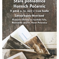 Vernisáž výstavy – Staré pohlednice Horních Počernic