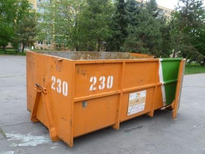 Přistavení velkoobjemových kontejnerů a kontejnerů na bioodpad v 1. pol. 2018