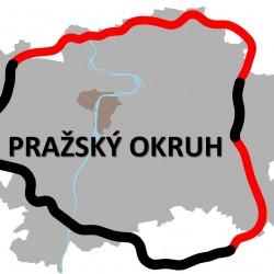 Prezentace představená na informativním setkání k plánovaným okruhům kolem Prahy