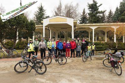 Jarni Cyklojizda 2018, Cerny Most - Horni Pocernice - Celakovice, Labe, Stredni Cechy.