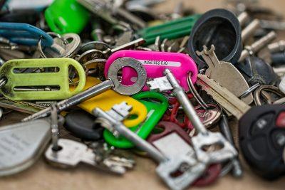 Nalezly se klíče