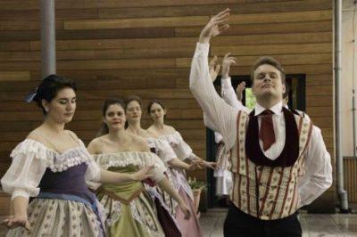 Festival historického tance na zámeckém nádvoří – 12. května