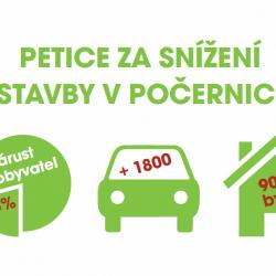 """Petice za změnu územního plánu """"Nad Palečkem"""": petiční místa a…"""