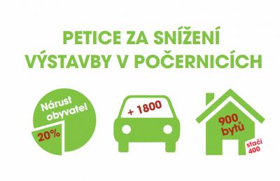"""Petice za změnu územního plánu """"Nad Palečkem"""": petiční místa a petiční hlídky"""