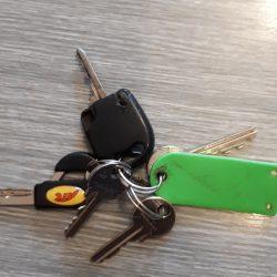 Nalezeny klíče !