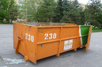 Přistavení velkoobjemových kontejnerů na I. a II. pololetí 2019