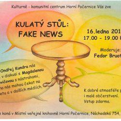 """Kulatý stůl: Fake news (""""falešné zprávy"""")"""