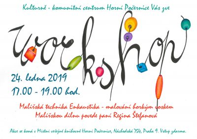 WORKSHOP Enkaustika
