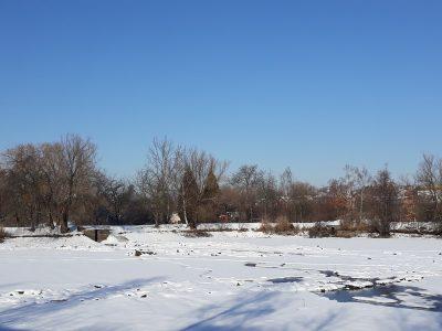 Hráz Biologického rybníka I se bude opravovat