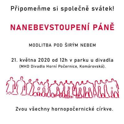 Nanebevstoupení 21.5.2020 HP