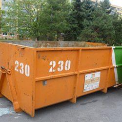 Přistavení kontejnerů na objemný odpad – VOK a BIO 2.pololetí…