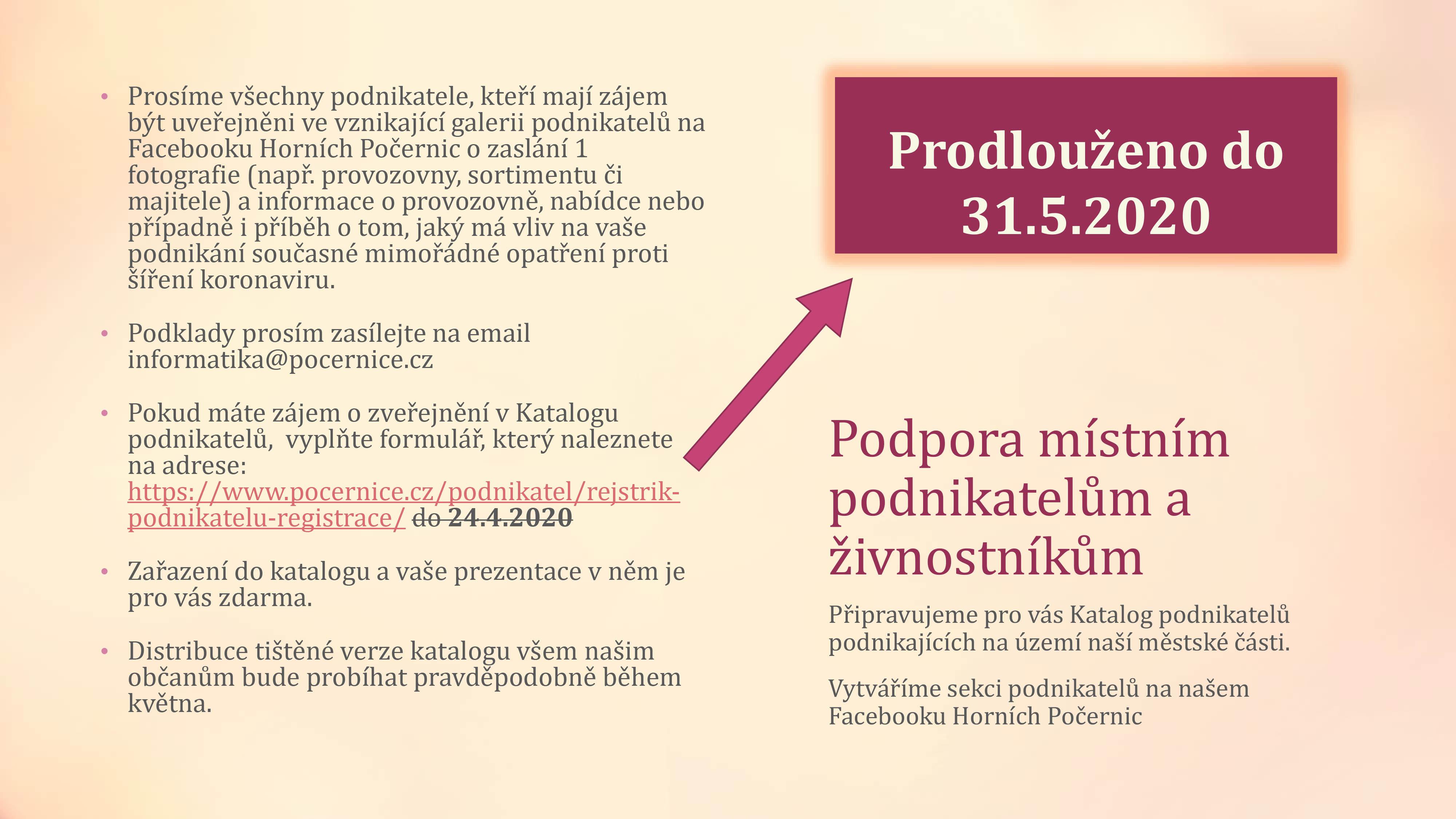 Mapa webu e-Zpravodaj Horn Poernice