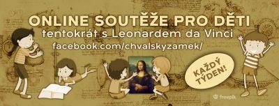 ONLINE soutěž pro děti tentokrát s LEONARDEM DA VINCI